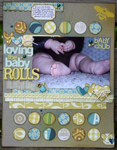 Loving the baby rolls