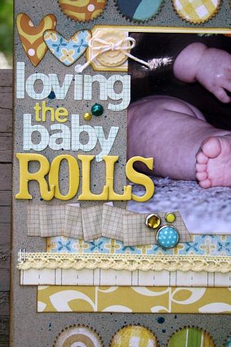 Loving the baby rolls 1